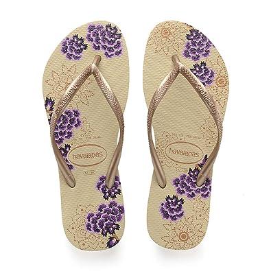 42541c3a2 Havaianas Flip Flops Women Slim Organic  Amazon.co.uk  Shoes   Bags