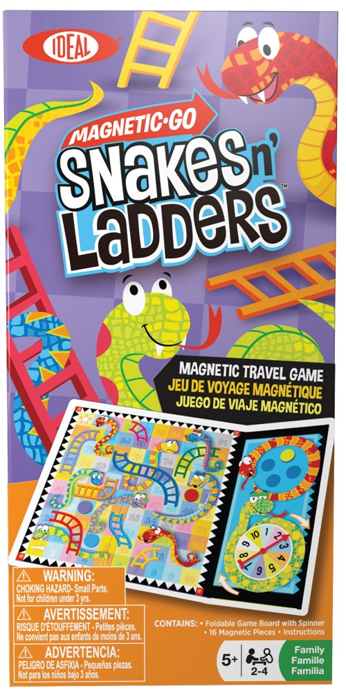 Amazon Ideal Magnetic Go Snakes N Ladders Toys Games