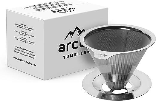Amazon.com: Embudo para vertir café. Cafetera de ...
