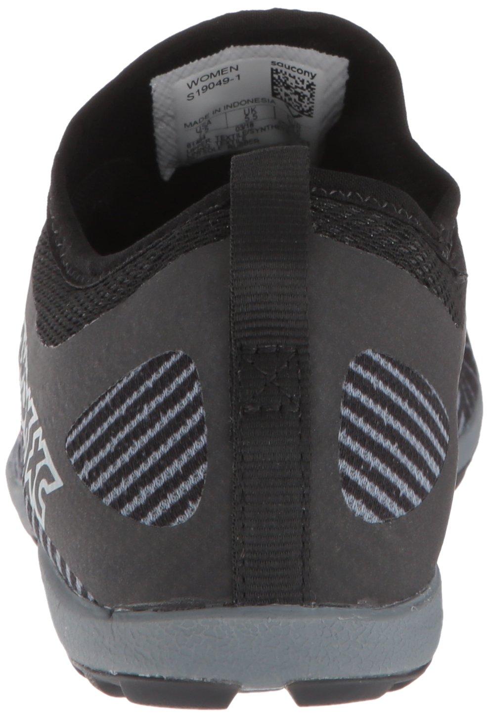 Saucony Women's Havok XC2 Flat Track Shoe Black/Grey/Vizi-red 7 M US by Saucony (Image #2)