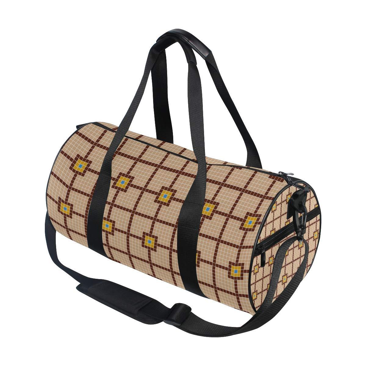 Floor Tile Ceramic PictureWaterproof Non-Slip Wearable Crossbody Bag fitness bag Shoulder Bag