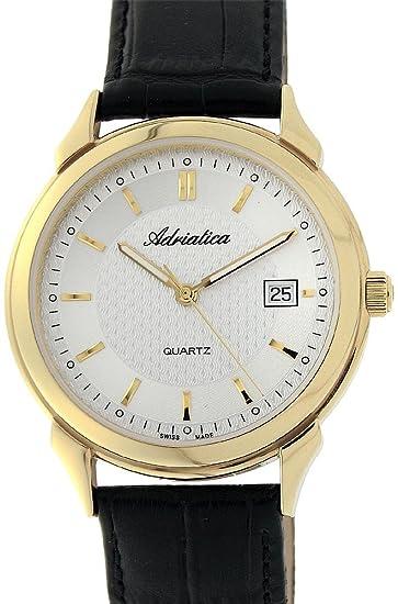 Suiza esRelojes Hombres RelojAmazon De Vestido Los Adriatica v80nmwOyN