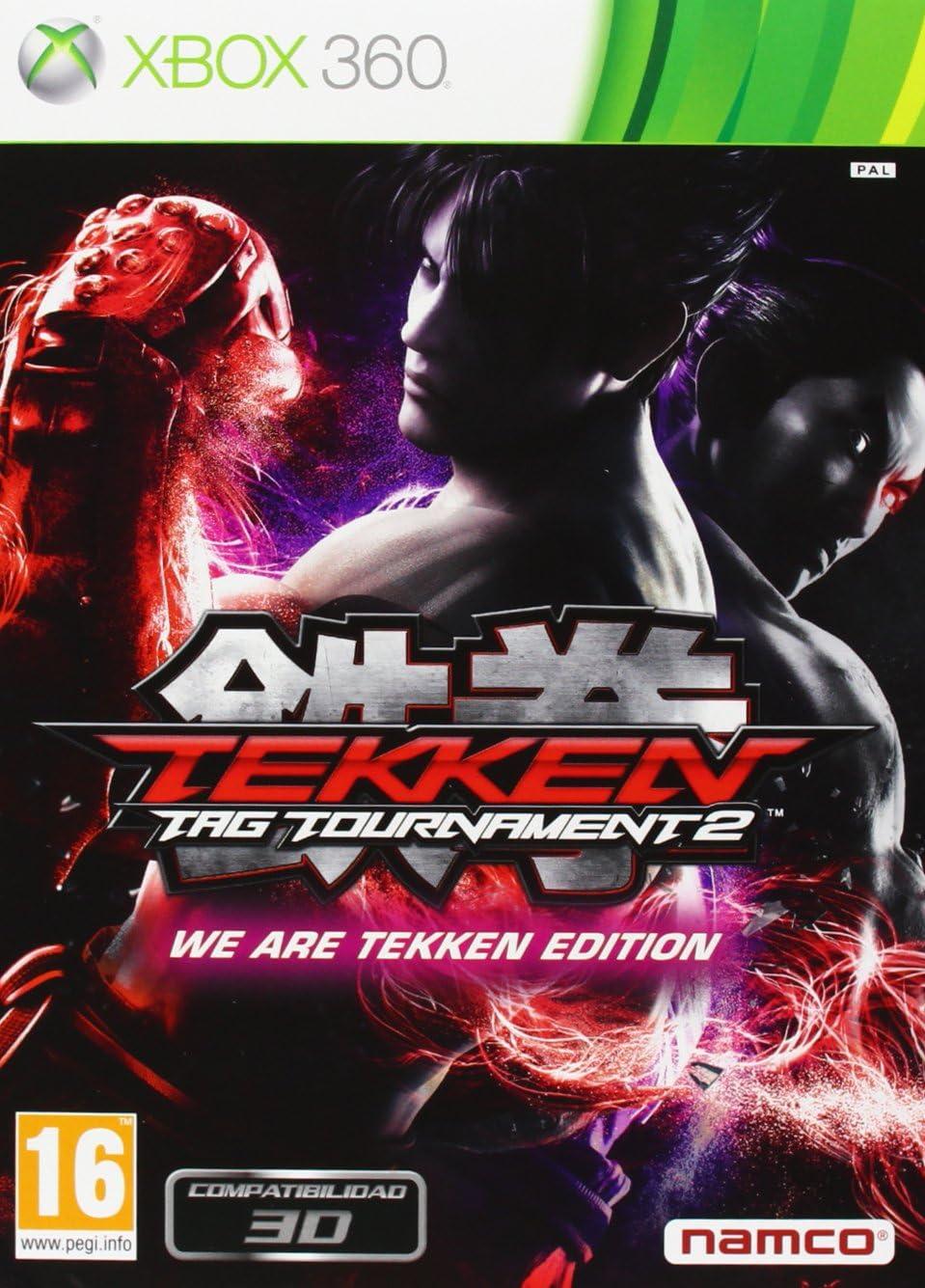 Tekken Tag Tournament 2 - We Are Tekken Edition: Amazon.es: Hogar
