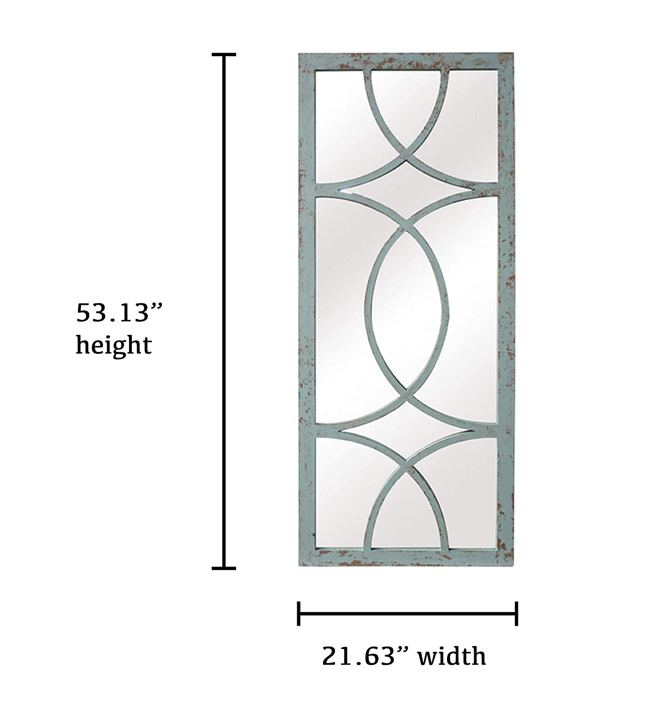 Amazon.com: SBC decoración Jardin círculo Panel de ventana ...