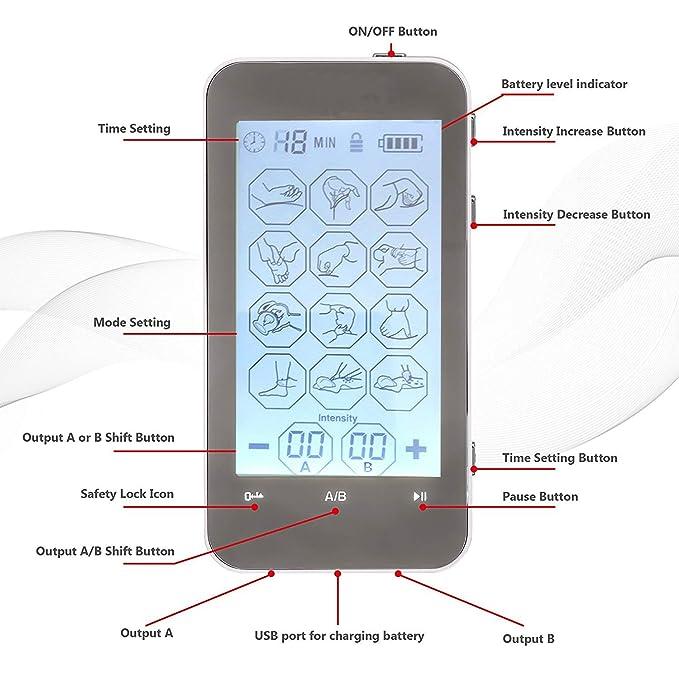 Neue Version] Havenhealth beste Portable Mini 12 Modi Touch Screen ...