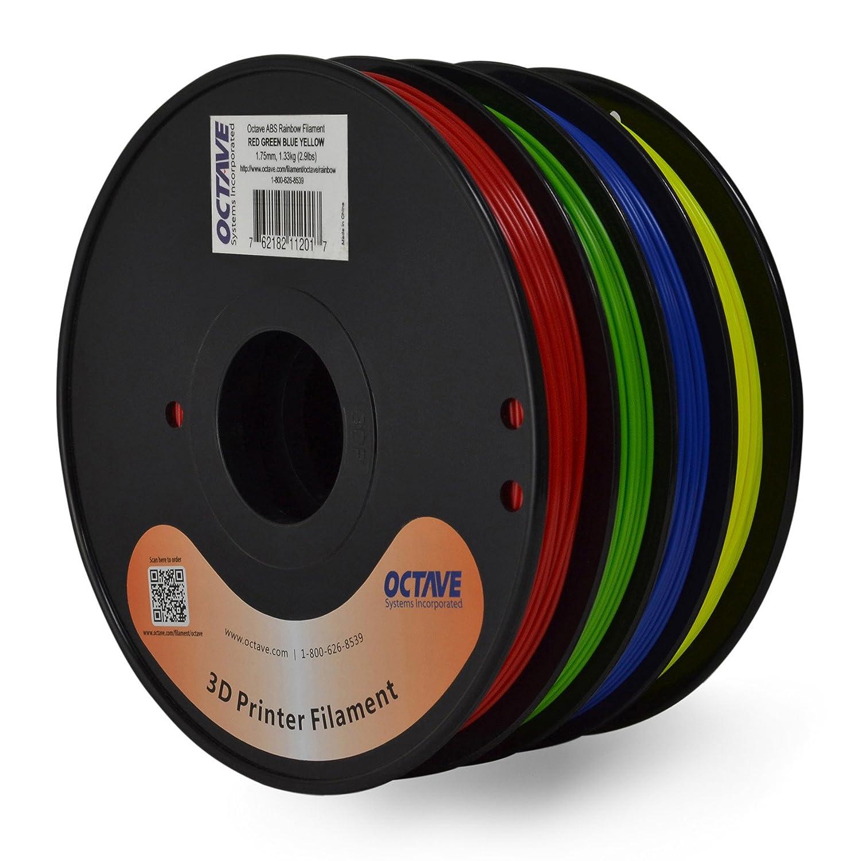 Octava 4 Color red-green-blue-yellow ABS Filamento para impresoras ...