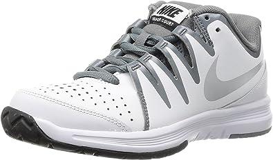 Eslovenia Estar satisfecho Larva del moscardón  Amazon.com | Nike Women's Vapor Court White/Black/Metallic Silver 5.5 B -  Medium | Fashion Sneakers