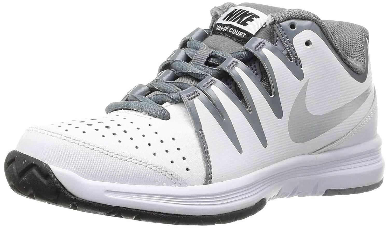 NIKE Damen Vapor Court Silver-cl Tennisschuhe Blanco (Weiß / Metallic Silver-cl Court Grau) be8515