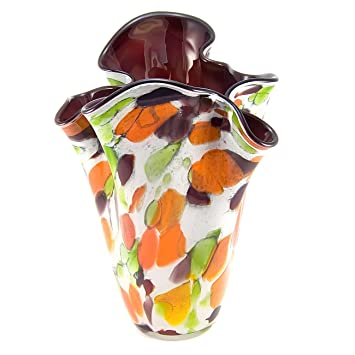 Amazon Jozefina Picasso Handmade Polish Glass Vase Kitchen