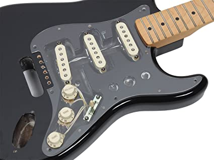 Fender Vintage Noiseless Stratocaster Pickups Set Amazon Com >> Amazon Com Fender Vintage Noiseless Loaded Strat Pickguard Clear 1