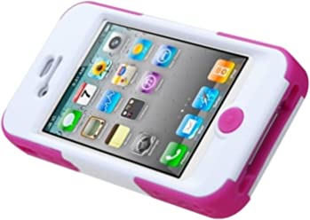 6 Hybrid Dual Layer SkullCap Case Silver Plating Cover For iPod Touch 5