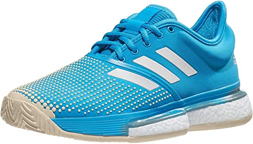 adidas Sole Court Boost Clay Womens Tennis Shoe: