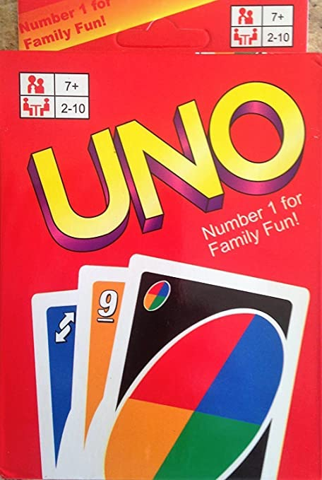 Original UNO Cards Game 108 cards