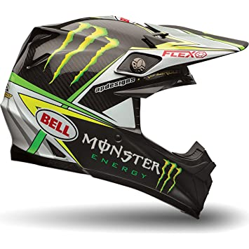 Bell Cascos MX 2017 Moto-9 Flex adultos casco, PRO circuito Monster Replica,