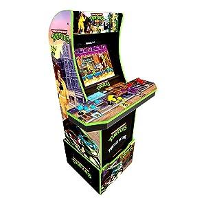 Teenage Mutant Ninja Turtles Arcade Machine w/ Riser - 5ft