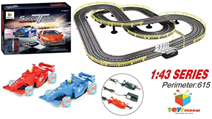 Buy Toys Bhoomi Perimeter 615 Electric Slot Racing Speed Track ... 3e5e0c367ec