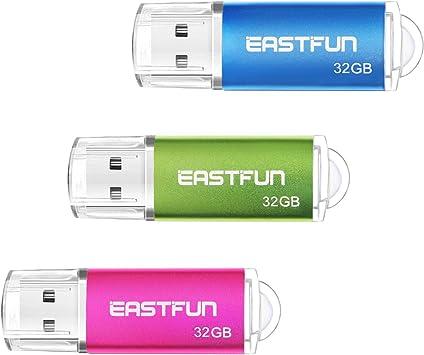 10x 8GB 5 Colors Key Metal USB 2.0 Flash Drive Thumb Pen Memory Stick Wholesale