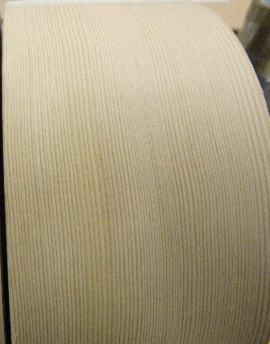 "Maple wood veneer edgebanding roll 3.25/"" x 120/"" with preglued adhesive 3-1//4/"""