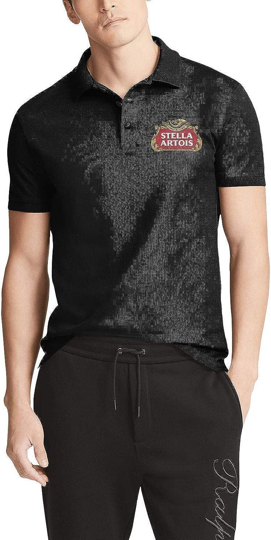 uter ewjrt Mens Guys Short Sleeve Adult Polo Tshirts Art Tops