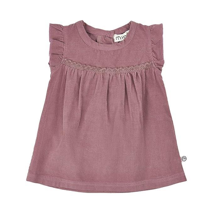 Minymo Baby Madchen Cordkleid Kleid Nur 86 In Rose Brown Grosse 56