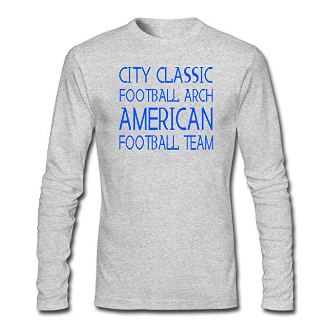 Men s City Classic Football Arch American Football Team Funny T-Shirt at  Amazon Men s Clothing store  66c88b589