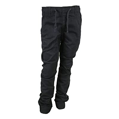 Access Boy's Pull-On Solid Twill Jogger Pants