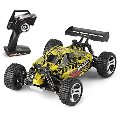 Amazon Com 4 Wheels Driving Rc Remote Control Car Off Road Truck