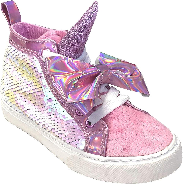 JoJo Siwa Girls Hightop Unicorn Sneaker