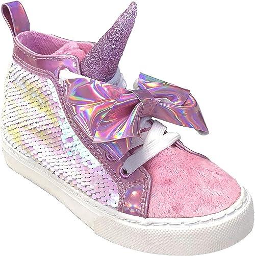 JoJo Siwa Girls' Glitter High Top