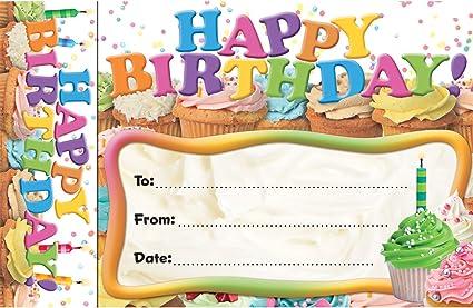 Amazon.com: Edupress Feliz cumpleaños marcapáginas premios ...
