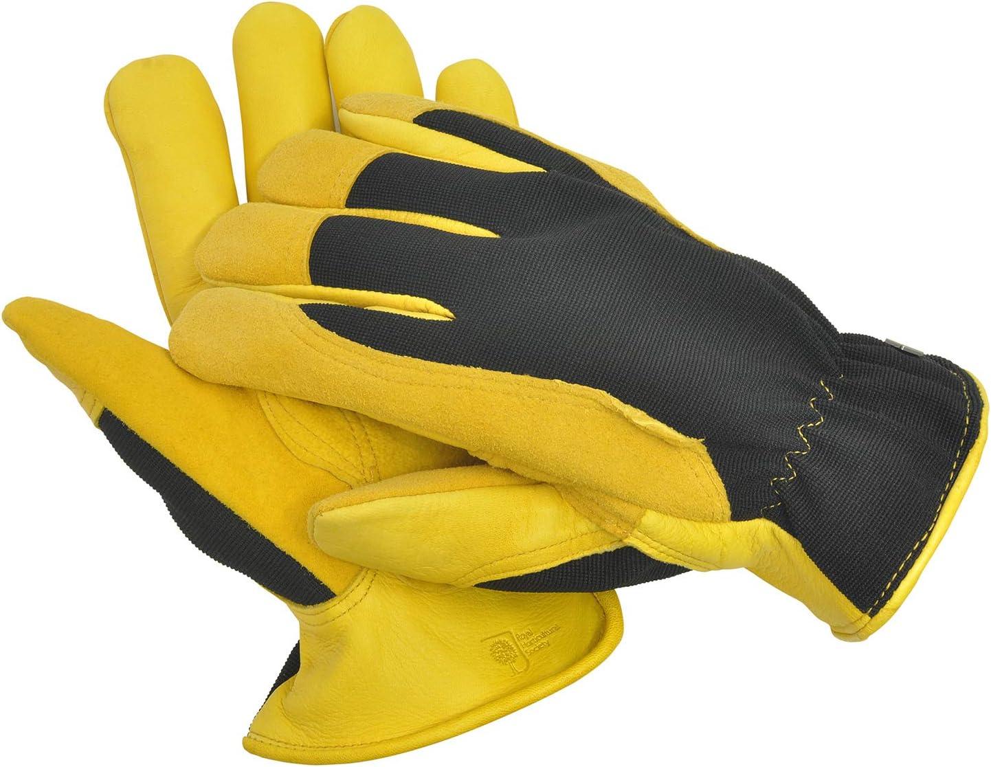 Gold Leaf Ladies Dry Touch Gardening Gloves