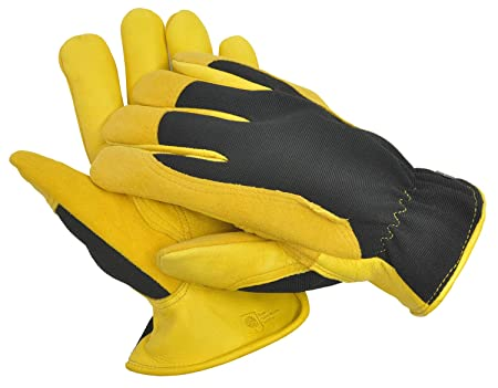footwear hot products attractive price Gold Leaf Gents Winter Touch Gardening Gloves