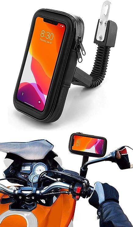 Antber Soporte movil Moto con Cargador Carga rapida 2.1A ...