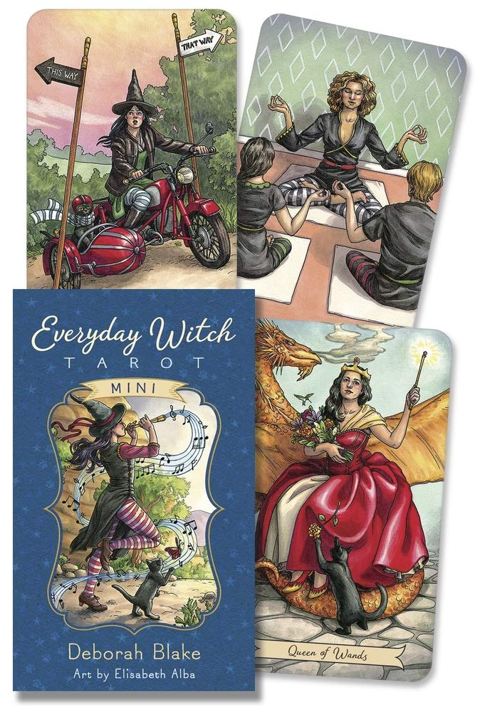 Everyday Witch Tarot Mini: Blake, Deborah, Alba, Elisabeth: 9780738765617:  Amazon.com: Books