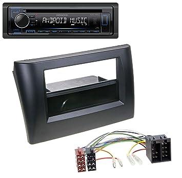 Kenwood 120ub CD aux MP3 Autoradio USB 1DIN pour Fiat Stilo ...