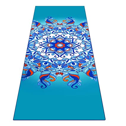Toalla Heathyoga antideslizante para yoga con ingeniosos bolsillos en las esquinas, 100 % microfibra, para yoga, bikram y pilatesBotella atomizadora ...