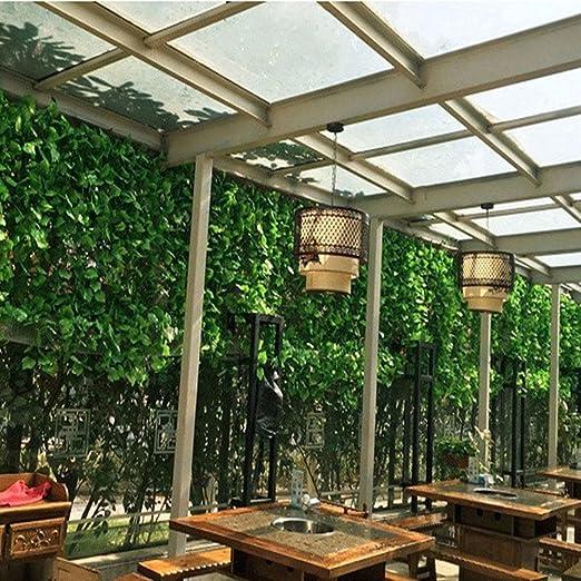 84 pulgadas 12 hilos verde artificial vid plantas guirnalda de ...