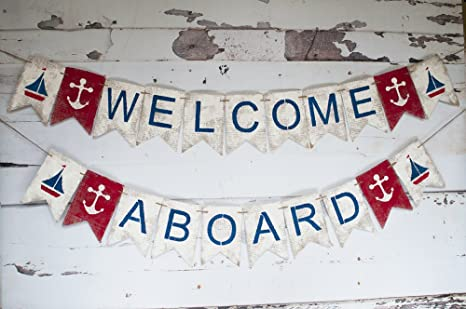Image result for nautical welcome banner