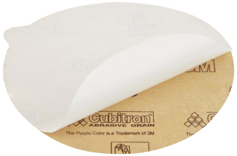 6 Diameter P80 Grit Pack of 50 6 Diameter 3M Stikit Paper Disc 735U with Tab PSA Attachment Ceramic Aluminum Oxide Bland