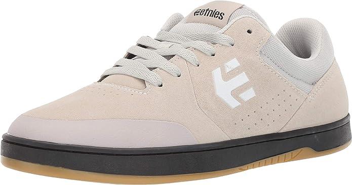 Etnies Marana Sneakers Skateboardschuhe Damen Herren Unisex Weiß/Schwarz