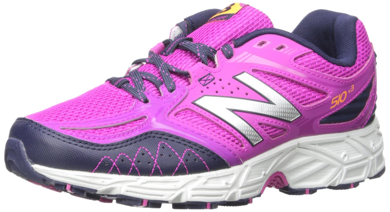 New Balance Women's WT510V3 Trail Shoe, Azalea/Abyss Silver, 9 B US