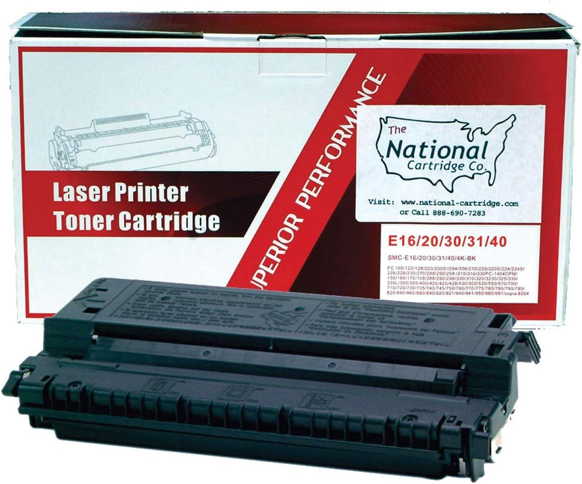 E40 Black Toner Cartridge For Canon PC 210 230 300 310 320 400 420 430 530 700
