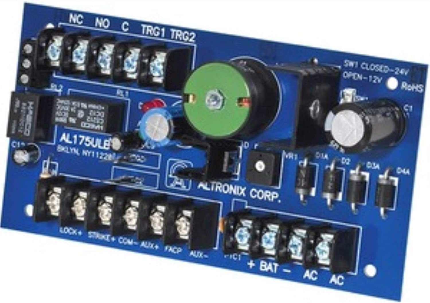 ALTRONIX AL175ULB Power Supply 2Out 12Dc Or 24Dc @ 1.75A
