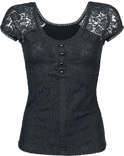 Gothicana by EMP Eternally Yours Camiseta Mujer Negro