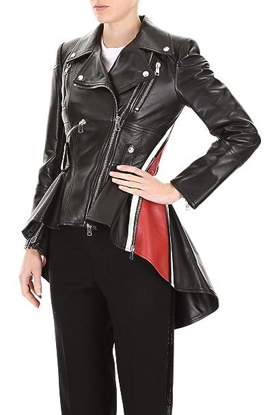 Amazon.com: Splenor - Chaqueta de cuero para mujer, diseño ...