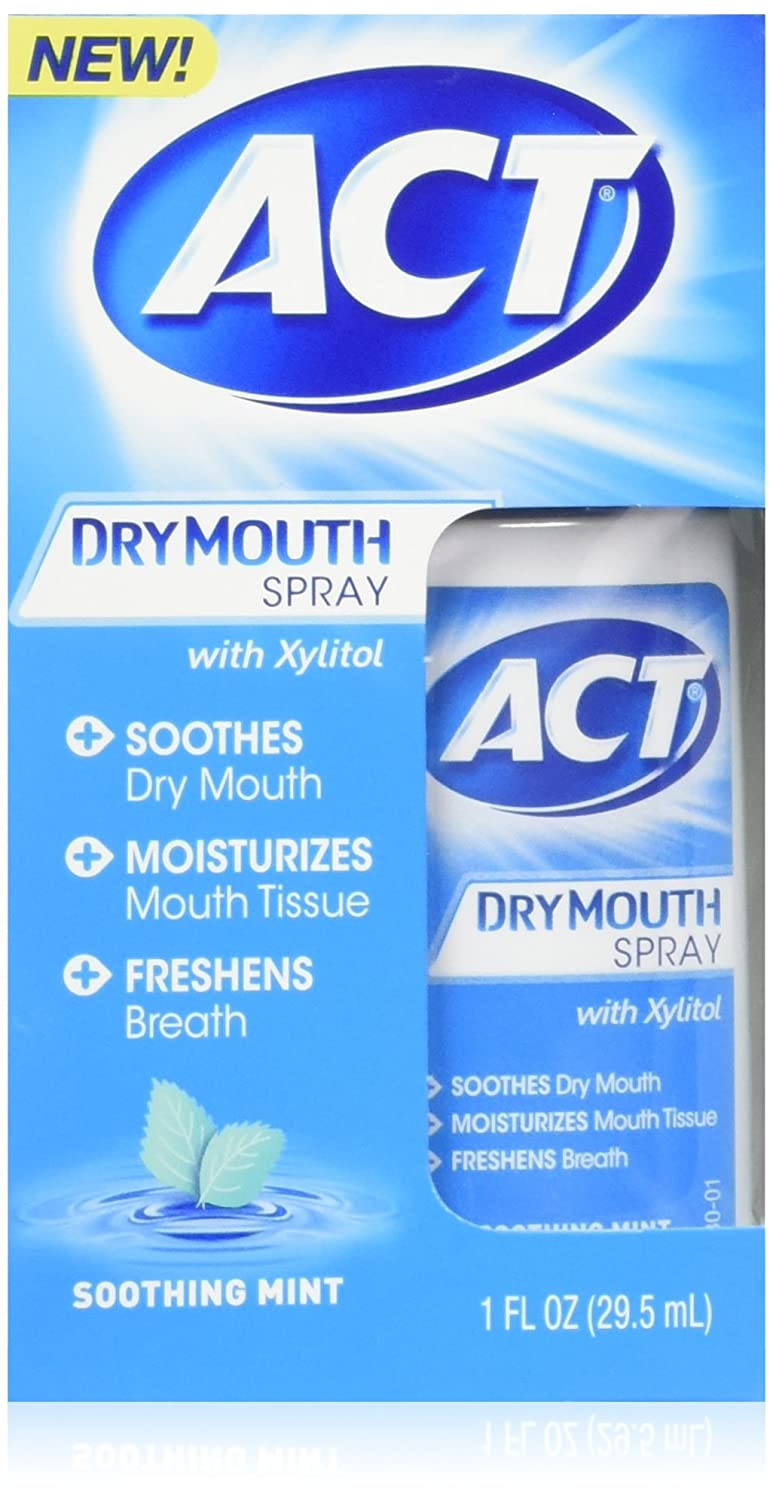 ACT Dry Mouth Spray 1 oz (Pack of 2) CHATTEM INC