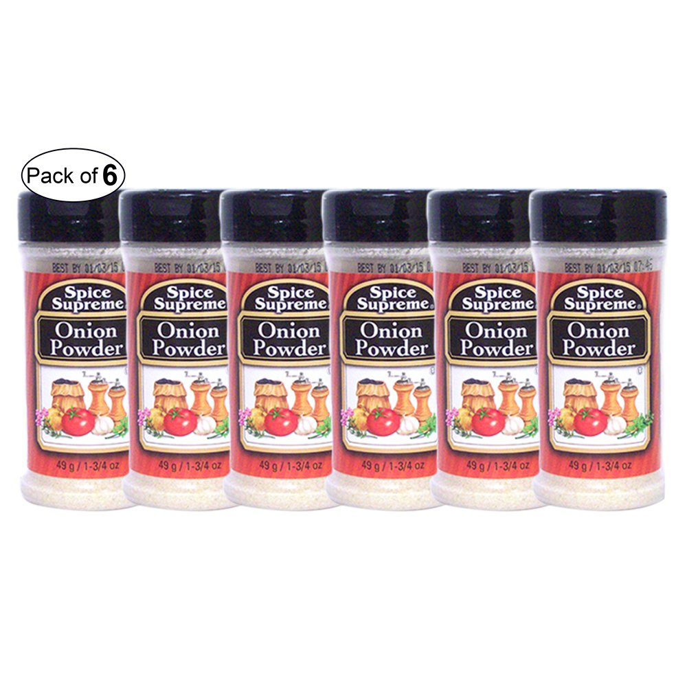 Spice Supreme - Onion Powder (49g) (Pack of 6)