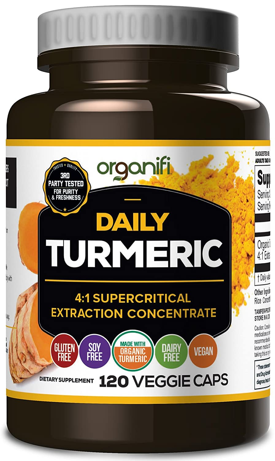 Amazon.com: Daily Turmeric Boost - 4:1 supercritical extraction ...