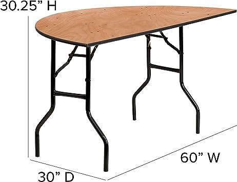 Flash Furniture 60hlf Rd Wood Fold Table Black Furniture Decor Amazon Com