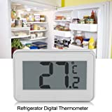 Kitchen Large LCD Refrigerator Fridge Freezer Digital Thermometer with Adjustable Stand& Magnet